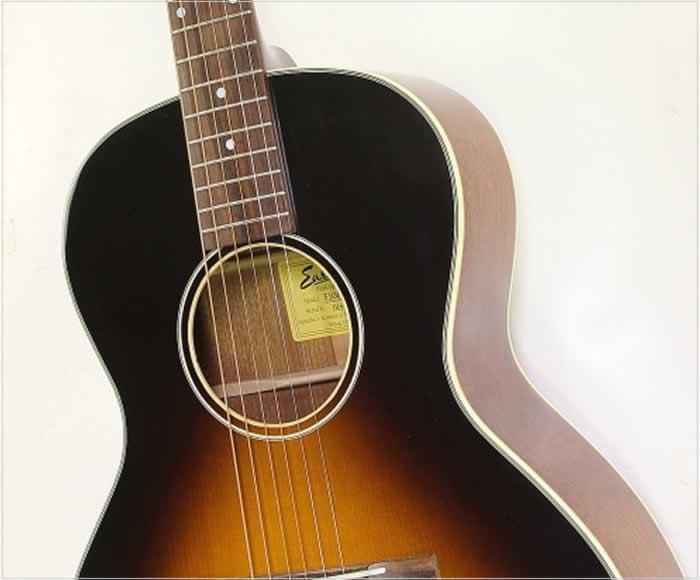 Eastman E10-OOSS Steel String Acoustic Sunburst, 2015 - The Twelfth Fret