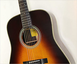 SOLD!!! Eastman E20D-SB Dreadnought Steel String Guitar Sunburst, 2005