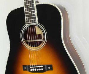 Eastman E40D-SB Dreadnought Steel String Acoustic Guitar