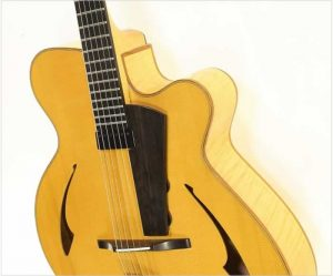 Eastman PG2 Pagelli Jazz Guitar Natural, 2011 - The Twelfth Fret