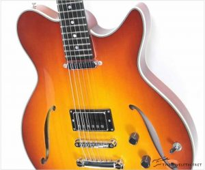 Eastman Romeo SC Thinline Archtop Electric, Red Burst - The Twelfth Fret
