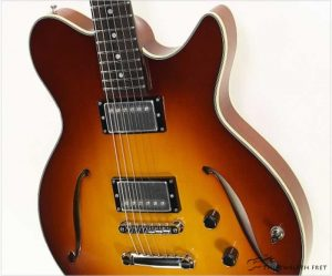 Eastman Romeo Thinline Archtop Guitar Sunburst - The Twelfth Fret
