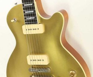 Eastman SB56 NGD Gold Top Solidbody