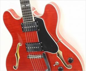 Eastman T486B Thinline Archtop Electric Vintage Red