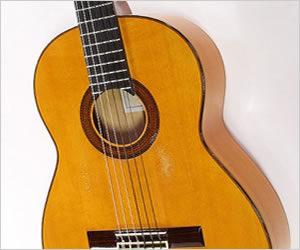 SOLD!  Eduardo Ferrer Flamenco Blanca Guitar, 1970