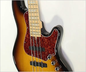 Elrick Expat New Jazz Standard Bass Guitar Sunburst 2017 REDUCED