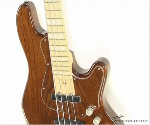 Elrick New Jazz Expat Series Bass Walnut Stain, 2012