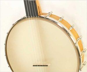 Enoch Tradesman 12 Inch Cherry 5-String Nylon String Banjo, 2019