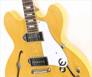 ❌SOLD❌  Epiphone John Lennon Revolution Casino 1803 of 1965 Natural, 2006