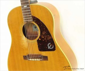 Epiphone Texan FT79N Steel String Natural, 1966