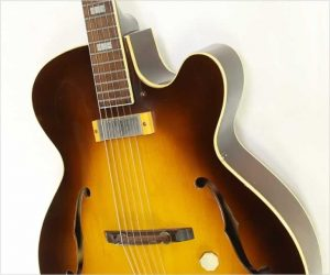 ❌SOLD❌   Epiphone Zephyr Regent Archtop Electric Sunburst, 1953