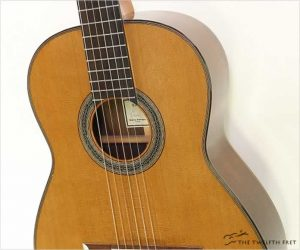 Eric Sahlin Classical Guitar Rosewood, 2012