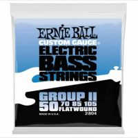 Ernie Ball Flatwound Group II Electric Bass Strings - The Twelfth Fret