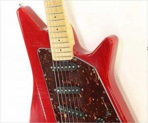 Ernie Ball Music Man Albert Lee SSS Hardtail Cherry Red, 2005 - The Twelfth Fret