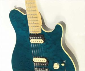 Ernie Ball Music Man Axis SuperSport Translucent Teal, 2001