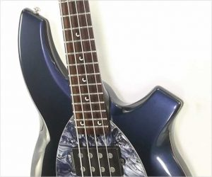 Ernie Ball Music Man Bongo 4 HH Bass, Carbon Blue Pearl, 2007