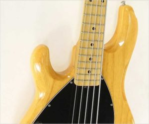 Sold!  Ernie Ball Music Man Stingray 5 Bass Left Hand Natural, 2009