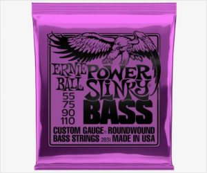 Ernie Ball Power Slinky Nickel Wound Electric Bass Strings