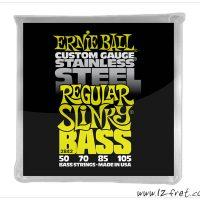 Ernie Ball Regular Slinky Bass Stainless Steel Strings - The Twelfth Fret