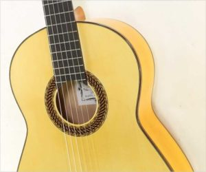 ❌SOLD❌   Ethan Deutsch Flamenco Blanca Guitar, 2018