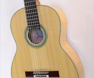 SOLD!!! Evan Kingma Classical Guitar Flamed Maple 2016