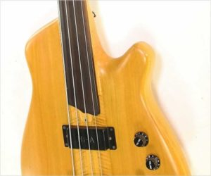 ‼️Reduced‼️ F Bass Fretless Bass, Maple and Poplar, 1982