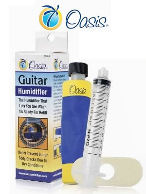 Oasis Guitar Humidifier - The Twelfth Fret