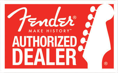 The Twelfth Fret is a Fender Authorized Dealer for Canada
