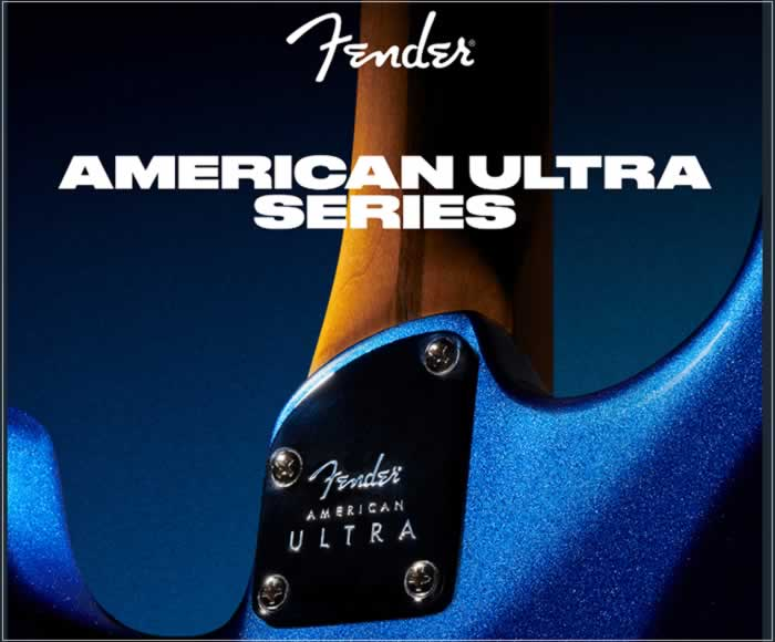 New Fender American Ultra Series Introducing State-Of-The-Art Engineering - The Twelfth Fret