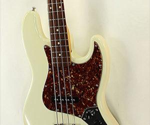 ❌SOLD❌ Fender Jazz Bass Custom Shop 1964 NOS White, 2005
