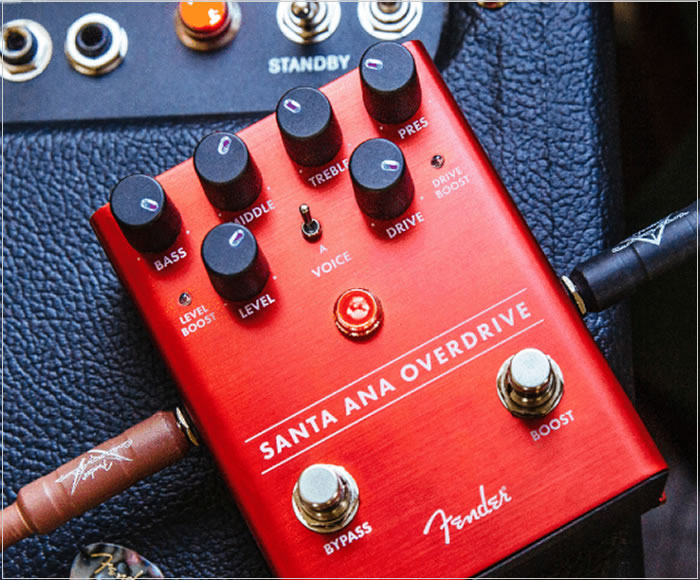 Fender Six New Effects Pedals - The Twelfth Fret