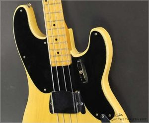Fender 1953 Precision Bass Blonde - The Twelfth Fret