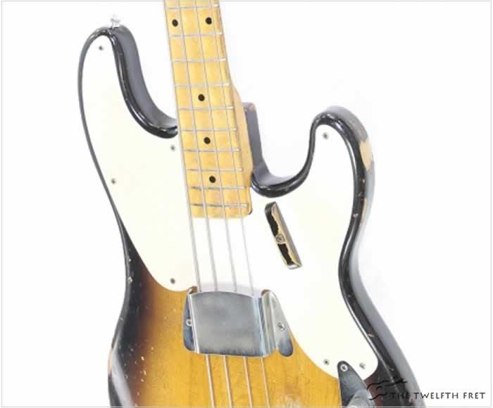 Fender 1956 Precision Bass Sunburst - The Twelfth Fret
