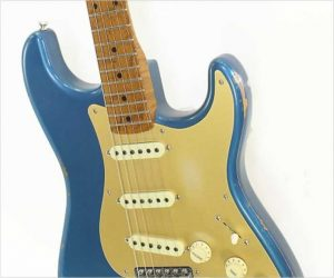 ❌SOLD❌ Fender 1956 Relic Roasted Stratocaster #140 Lake Placid Blue, 2016