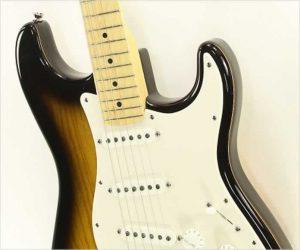 ❌ SOLD❌   Fender 50th Anniversary Stratocaster Sunburst, 2004
