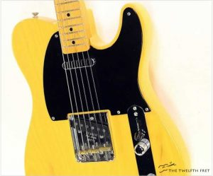 Fender 52 Telecaster Reissue Butterscotch, 2000 - The Twelfth Fret