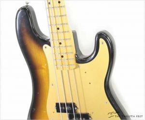 Fender 57 Reissue Precision Bass Sunburst, 1982 - The Twelfth Fret