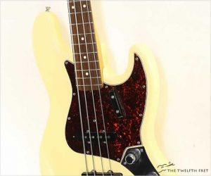 Fender 62 Jazz Bass Reissue Olympic White Made in USA, 1994