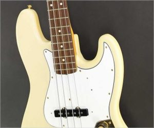 ❌SOLD❌ Fender '62 Reissue Jazz Bass Olympic White, 1988