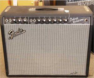 Fender 65 Deluxe Reverb Reissue 1x12 Combo Amp, 2006