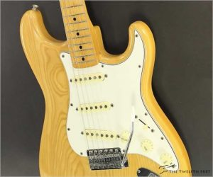 ❌SOLD❌ Fender 72 Reissue Stratocaster Made in Japan Natural, 1994