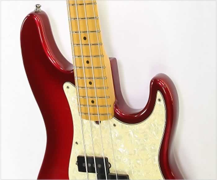 Fender American Deluxe Precision Bass Translucent Red 1997 - The Twelfth Fret