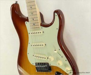 ❌SOLD❌ Fender American Deluxe Stratocaster Sienna Burst, 2009