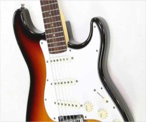 ❌Sold❌ Fender American Deluxe Stratocaster Sunburst, 1999