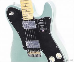 Fender American Professional II Telecaster Deluxe Mystic Surf Gree