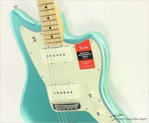 Fender American Professional Jazzmaster Mystic Seafoam - The Twelfth Fret