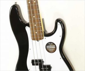 ❌SOLD❌ Fender American Standard Precision Bass Black, 2015