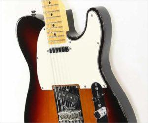 ❌SOLD❌  Fender American Standard Telecaster Sunburst, 2012