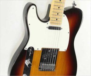 ❌SOLD❌  Fender American Telecaster Left Handed Sunburst, 2002