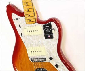 Fender American Ultra Jazzmaster Plasma Red Burst, 2019